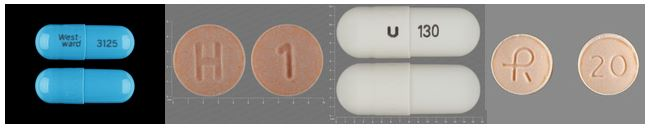 Examples of HCTZ Pills