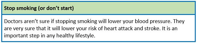 Lifestyle Quit Smoking