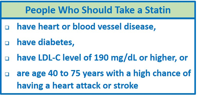 Statin Treatment Criteria